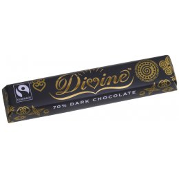 Divine 70 percent  Dark Chocolate - 40g