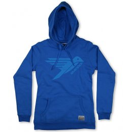 Womens Bird Logo Hoodie - Atlantic