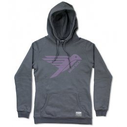 Silverstick Organic Cotton Bird Logo Womens Hoodie