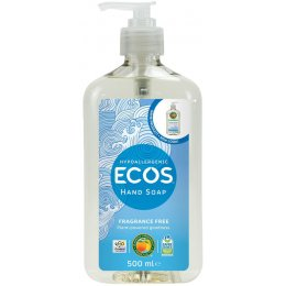ECOS Fragrance Free Liquid Hand Soap - 500ml