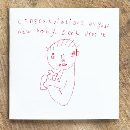 Arthouse Meath Charity Congratulations On Your New Baby Card