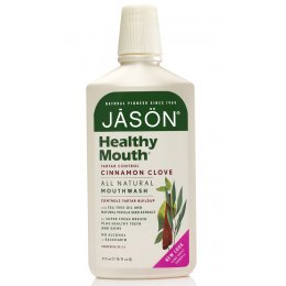 Jason Healthy Antiplaque & Tartar Control Mouthwash - 480ml