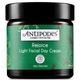 Antipodes Rejoice Light Facial Day Cream Moisturiser - 60ml