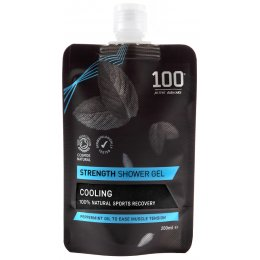 100 Bodycare Strength Natural Shower Gel - 200ml
