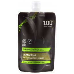 100 Bodycare Cardio Natural Shower Gel - 200ml