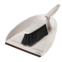 Greener Cleaner Dustpan & Brush - Cream