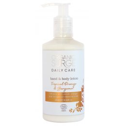 Organic Surge Hand & Body Lotion - Tropical Orange & Bergamot - 250ml