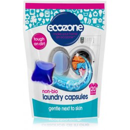 Ecozone Non Bio Laundry Capsules - Pack of 20