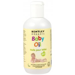 Bentley Organic Organic Baby Oil with Sunflower  Jojoba & Chamomile - 250ml