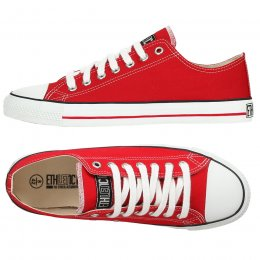Ethletic Fairtrade Trainers - Red