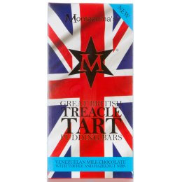 Montezumas Great British Pudding Bars - Treacle Tart - 100g