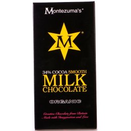 Montezumas Organic 37 percent  Cocoa Smooth Milk Chocolate - 100g