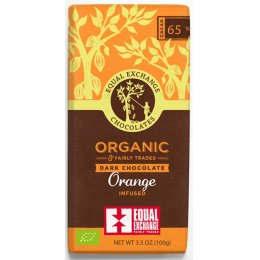 Equal Exchange Organic Orange Dark Chocolate - 100g