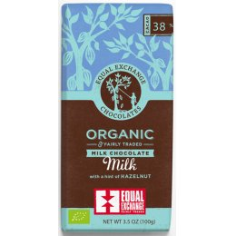 Equal Exchange Organic Hazelnut Milk Chocolate - 100g