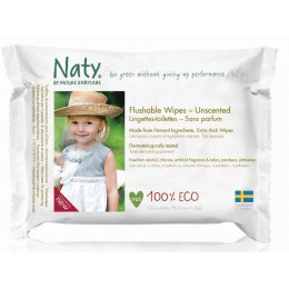 Naty Family Flushable Wipes - Pack of 42