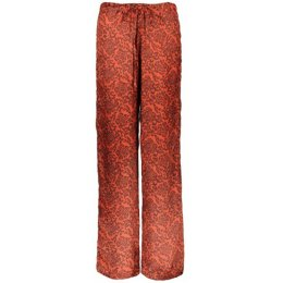 Nancy Dee Aura Rose Print Drawstring Trousers