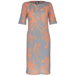Nancy Dee Cece Paint Print Jumper Dress