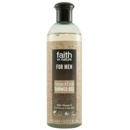 Faith In Nature Mens Ginger & Lime Shower Gel - 400ml