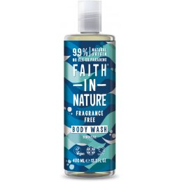 Faith In Nature Fragrance Free Body Wash - 400ml