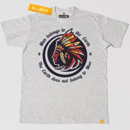 All Riot Man Belongs to the Earth Native America T-Shirt