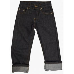 The Fableists Organic Dark Straight Unisex Jeans