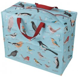 Recycled Jumbo Storage Bag Garden Birds