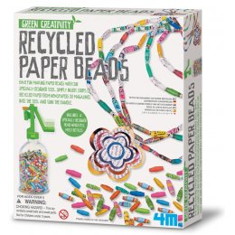 Green Creativity Recycled Paper Beads