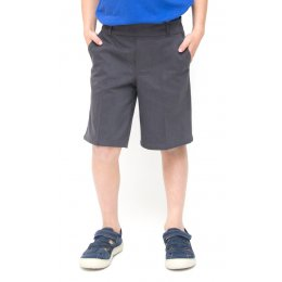 Boys Classic School Shorts - Grey - Infant