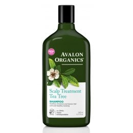 Avalon Organics Scalp Treatment Shampoo - Tea Tree - 325ml