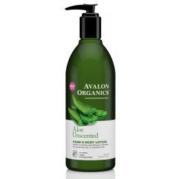 Avalon Organics Hand & Body Lotion - Aloe Unscented - 340g