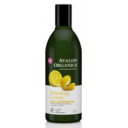 Avalon Organics Bath & Shower Gel - Lemon - 355ml