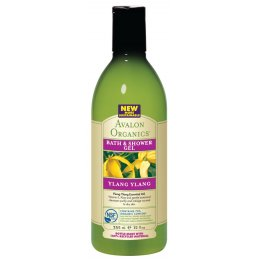 Avalon Organics Bath & Shower Gel - Ylang Ylang - 355ml