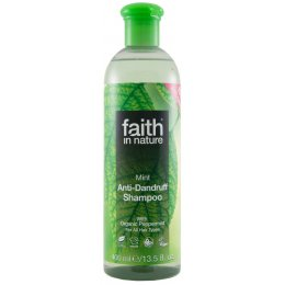 Faith in Nature Anti-Dandruff Shampoo - Mint - 400ml