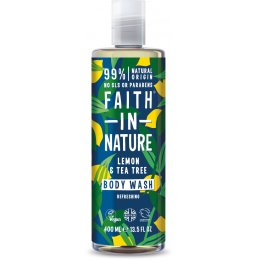 Faith in Nature Lemon & Tea Tree Body Wash - 400ml