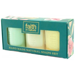 Faith in Nature Handmade Soap Gift Set