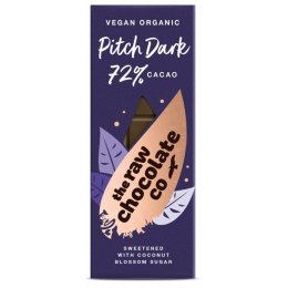 The Raw Chocolate Co Pitch Dark Chocolate Bar - 38g
