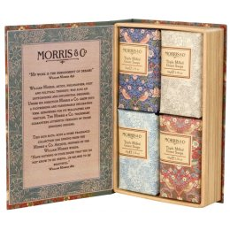 Morris & Co. Strawberry Thief Guest Soaps 4 x 50g