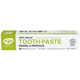Green People Toothpaste - Fennel & Propolis - 50ml