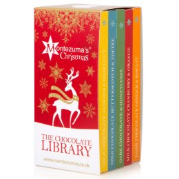 Montezumas Christmas Chocolate Library