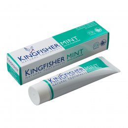 Kingfisher Toothpaste with Fluoride - Mint - 100ml