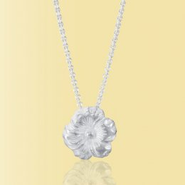 Mosami Pansy Thinking Of You Pendant Necklace