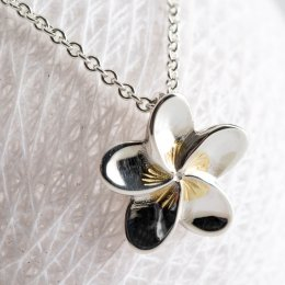 Mosami Frangipani Loyalty Pendant Necklace