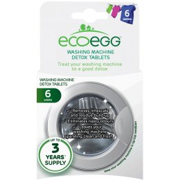 Ecoegg Washing Machine Detox Tablets - Pack of 6