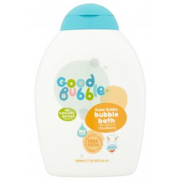 Good Bubble Super Bubbly Bubble Bath - Cloudberry - 400ml
