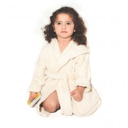 Organic Cotton Baby Robe - 6-8yrs