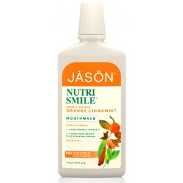 Jason Nutrismile Enamel Defense Orange Cinnamint Mouthwash - 480ml