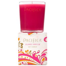 Pacifica Island Vanilla Scented Soy Candle - 160g
