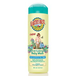 Earths Best Cold Soothing Baby Wash - 251ml
