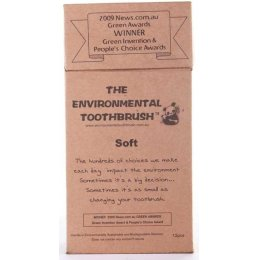 Environmental Bamboo Toothbrush - Soft