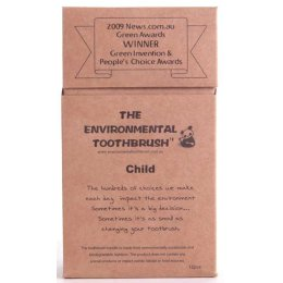 Environmental Bamboo Toothbrush - Childrens